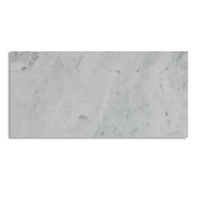 Load image into Gallery viewer, Carrara White 6x12 Marble Tile