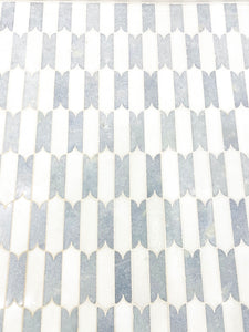 Pacifica - Marble Waterjet Mosaic (Priced: 1 SHEET | 1.10 SQFT)