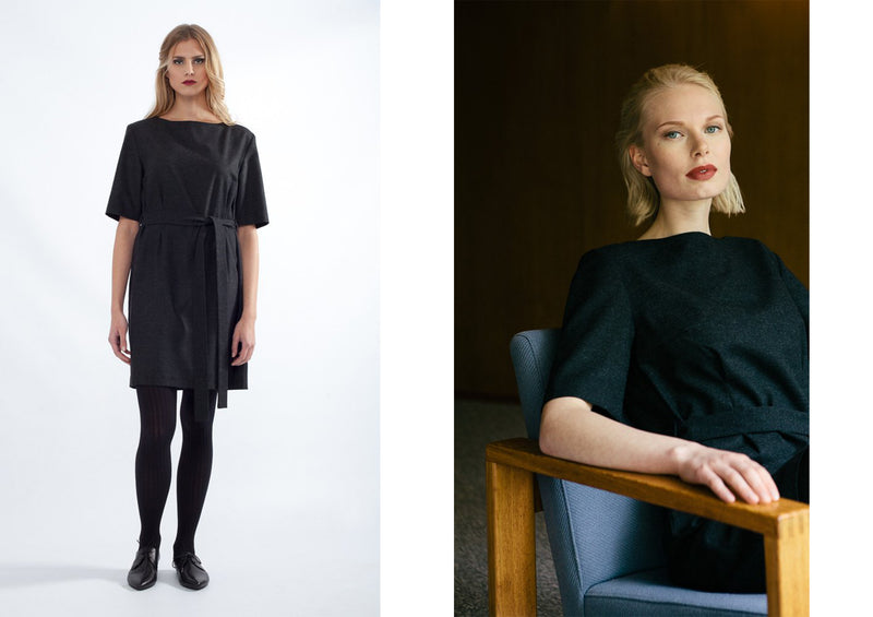 Anna-Maria from the Secret Wardrobe blog; Timeless office dress
