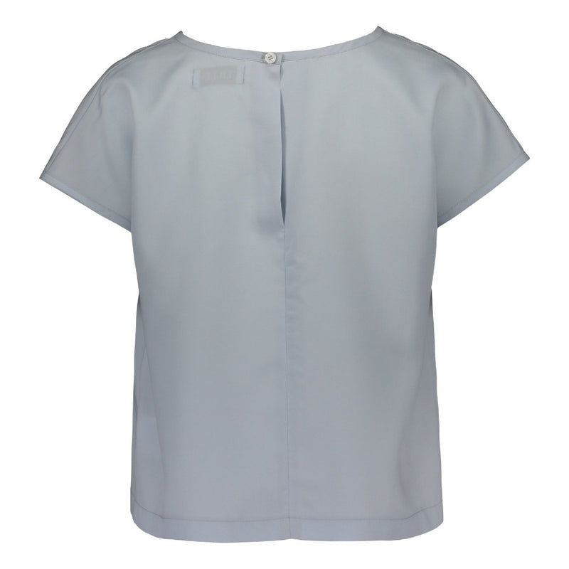 Kiti top in light blue by Lille Clothing_back 2