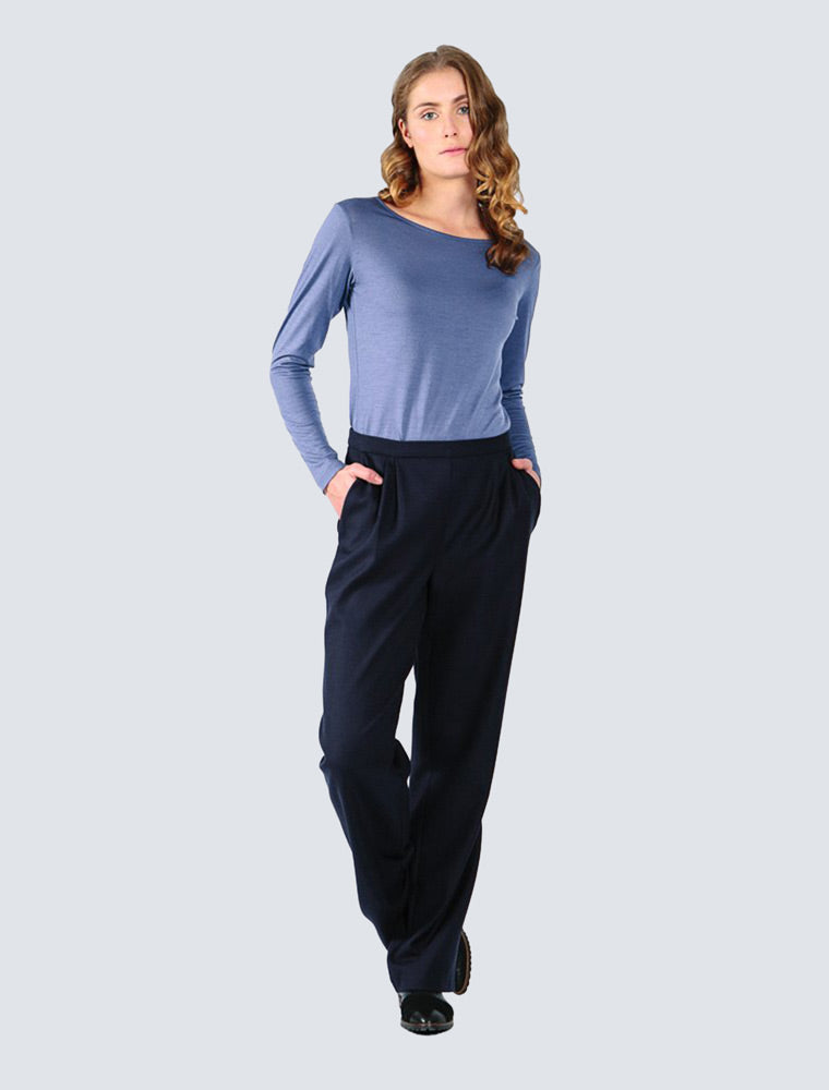 Armi Trousers Dark Blue - LILLE Clothing