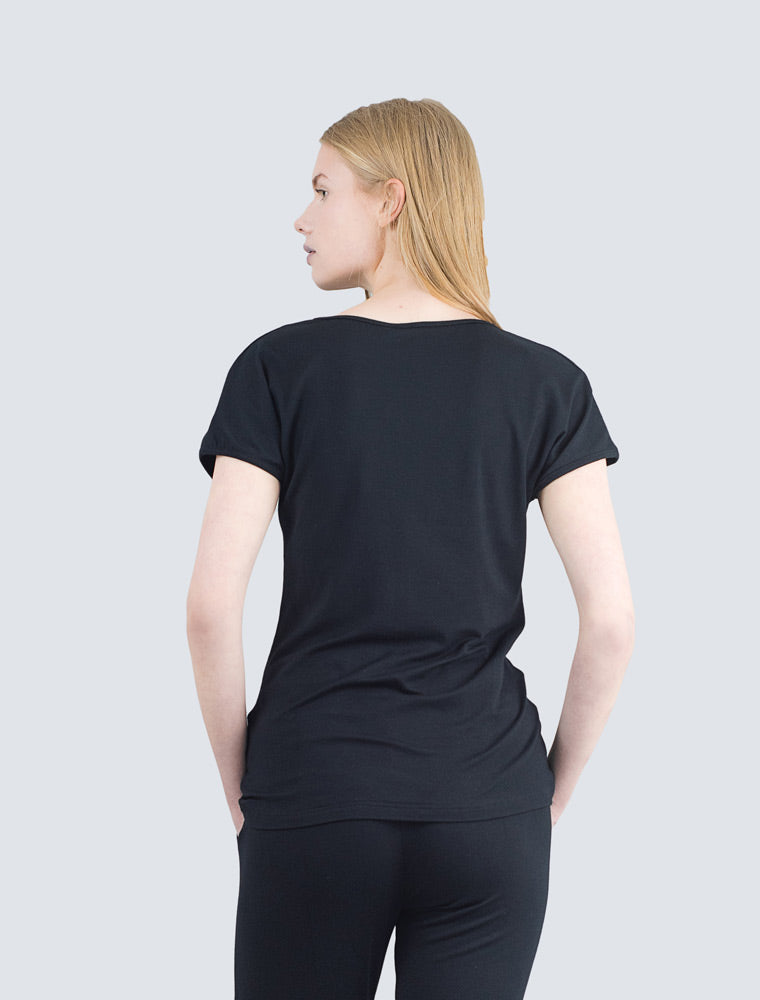 Eini T-Shirt Black - LILLE Clothing