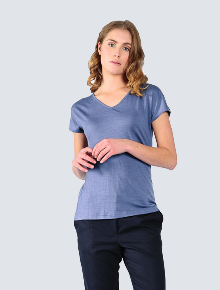 Eini Wool T-Shirt - LILLE Clothing