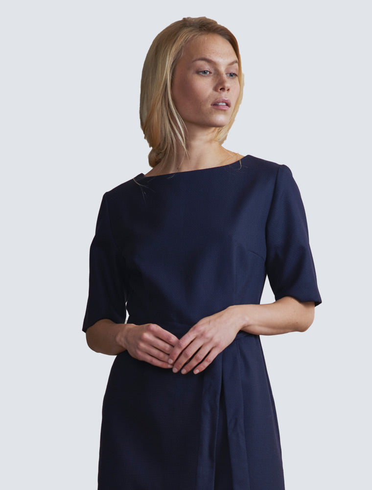 LILLE-Elvi-dress-dark-blue