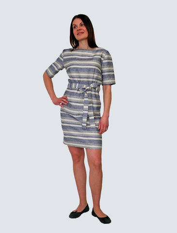 Kukka Shirt Dress Stripes