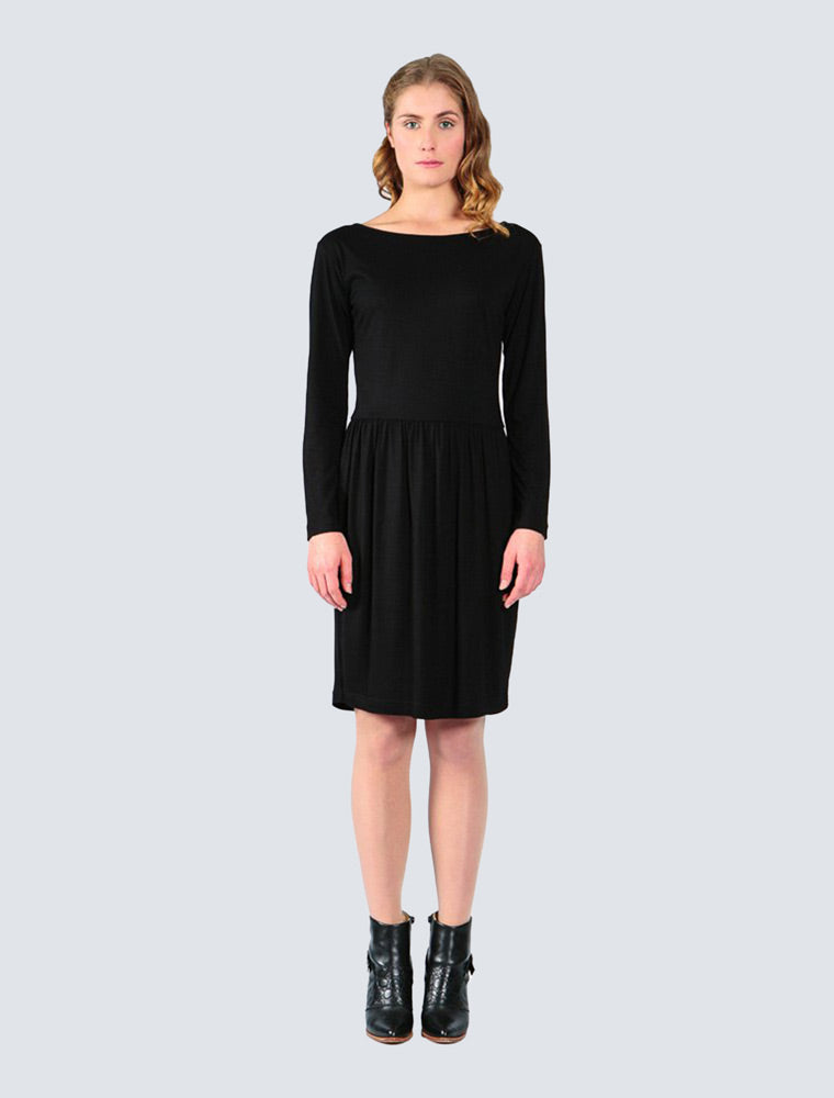 LILLE-Fiona-dress-black
