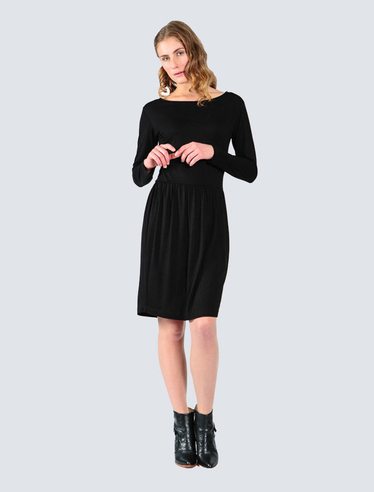 Fiona Dress Black - LILLE Clothing