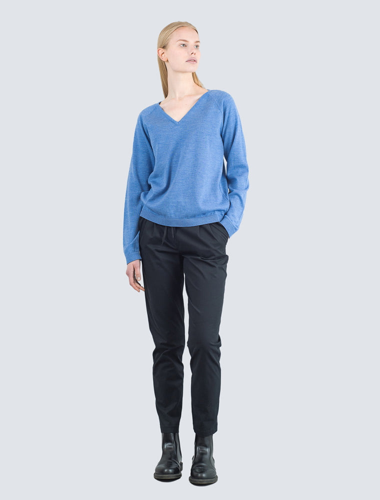 Heta Pullover Blue - LILLE Clothing