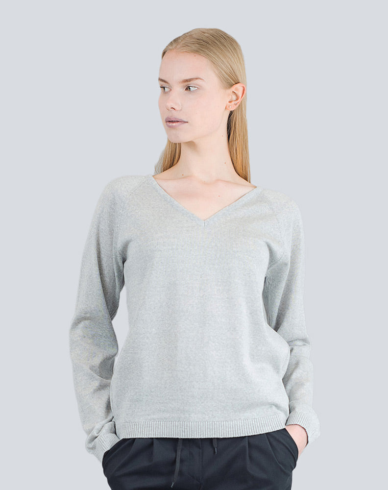 Heta Sweater Grey - LILLE Clothing