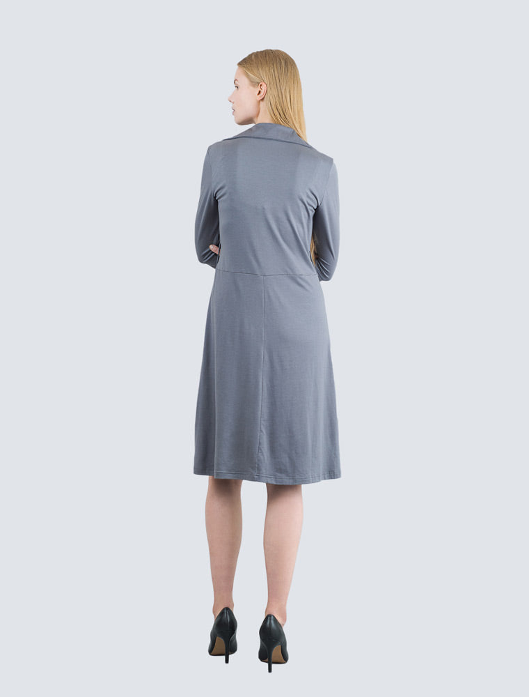 LILLE-Ilse-dress-grey