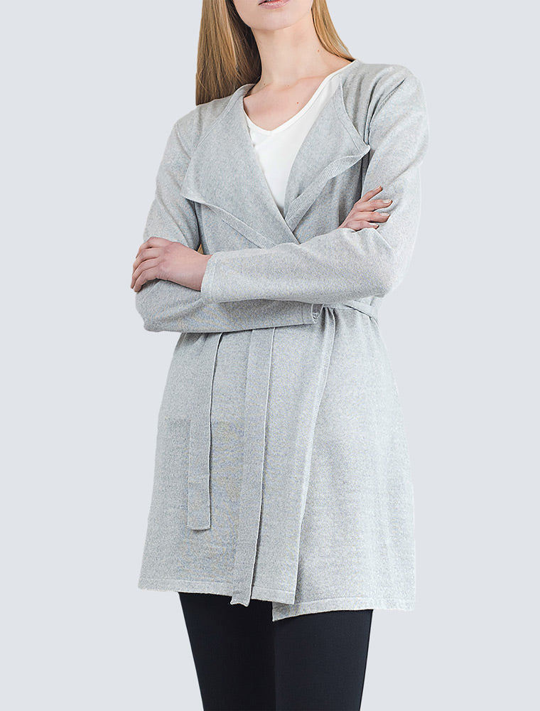 Josefin Cardigan Grey - LILLE Clothing