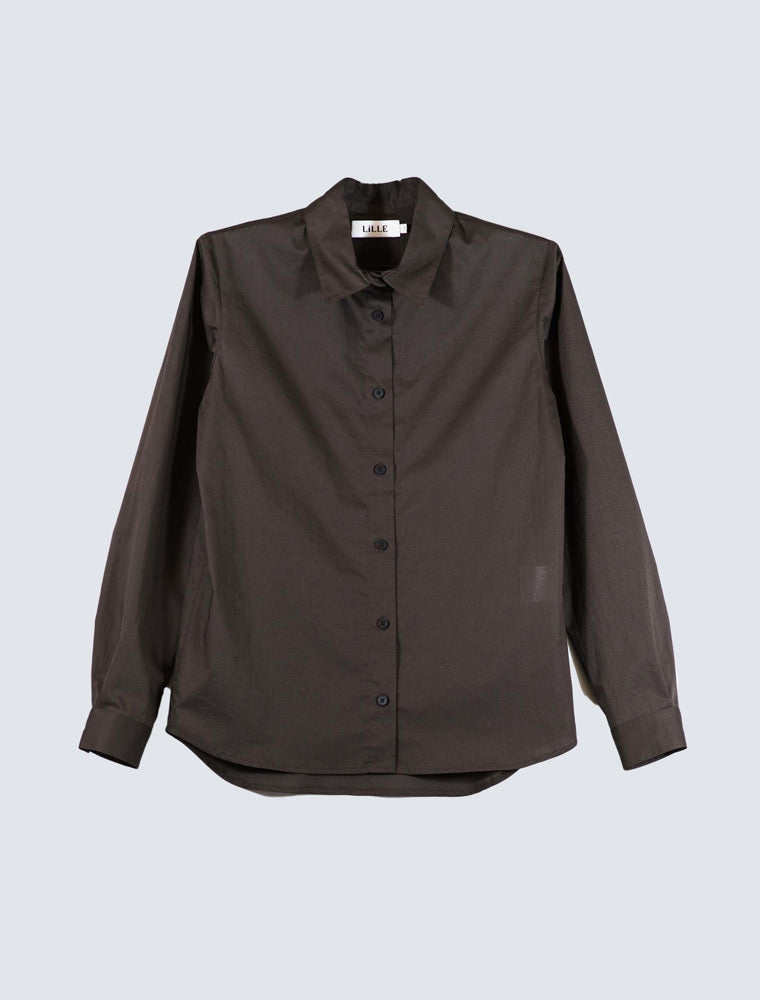 LILLE-Julia-shirt-brown