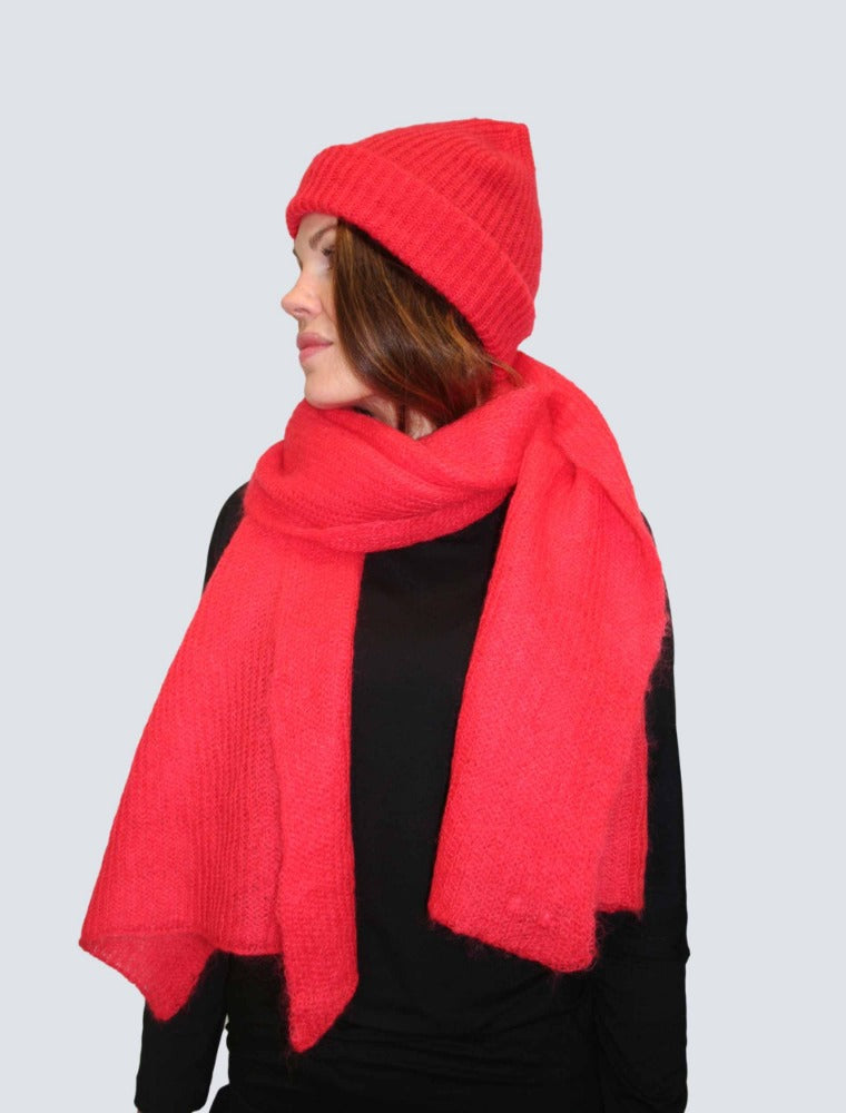 LILLE-Linn-beanie-cherry-red