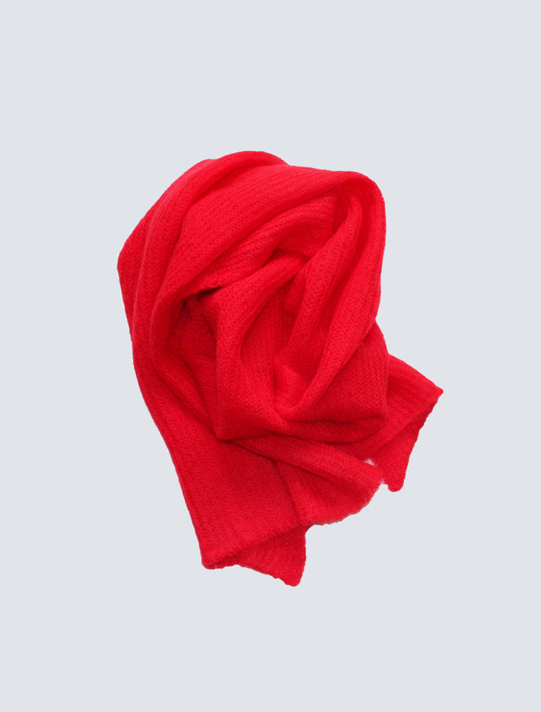 LILLE-Milla-scarf-cherry-red