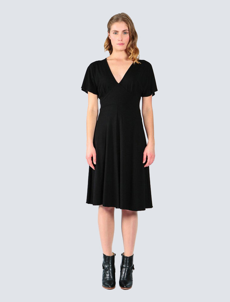 Sylvie Dress Black - LILLE Clothing