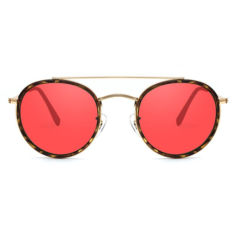 Fashionable Holiday Sunglasses,Red Cool Lenses Sunglasses |  Valence-JH