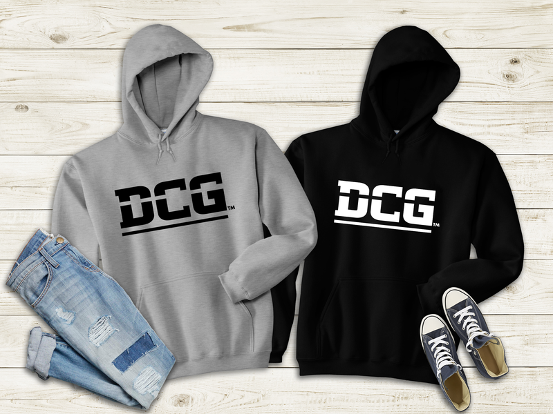 DCG MONOGRAM GRAY OR BLACK HOODIE