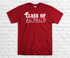 RED CLASS OF 2020 TP TEE