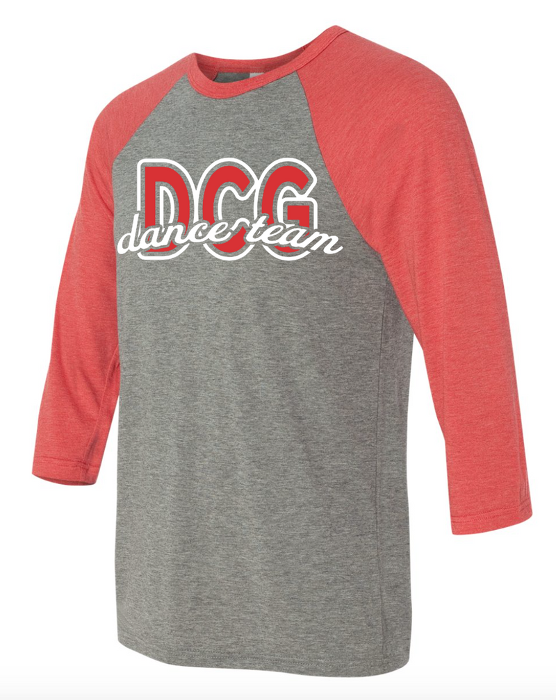 DC-G DANCE TEAM 3/4 SLEEVE TEE
