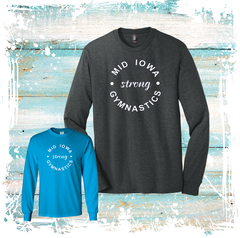 LONG SLEEVE MID IOWA STRONG TEE