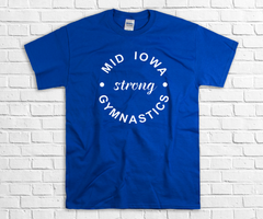 MID IOWA STRONG ADULT TEE