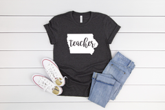 IOWA TEACHER TEE