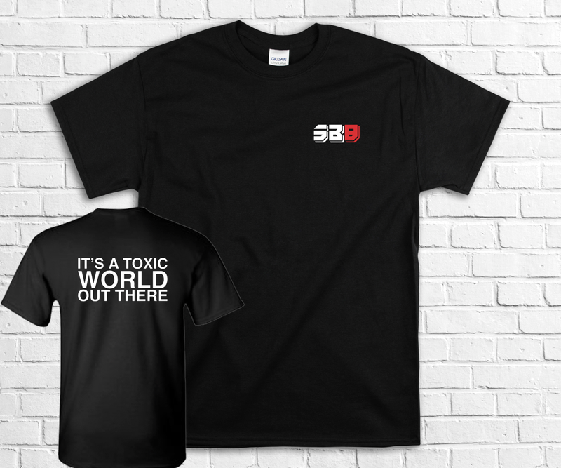 IT'S A TOXIC WORLD SHORT SLEEVE TEE