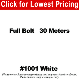 #1001 White Broadcloth Full Bolt (45