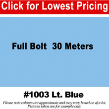"Load image into Gallery viewer, #1003 Light Blue Broadcloth Full Bolt (45"" x 30 Meters)"