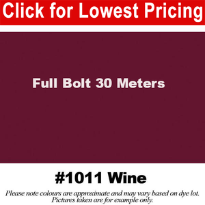 "#1011 Wine Broadcloth Full Bolt (45"" x 30 Meters)"