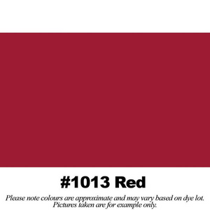 "#1013 Red Broadcloth Full Bolt (45"" x 30 Meters)"