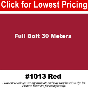 #1013 Red Broadcloth Full Bolt (45