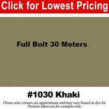 "Load image into Gallery viewer, #1030 Khaki Broadcloth Full Bolt (45"" x 30 Meters)"