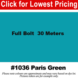 #1036 Paris Green Broadcloth Full Bolt (45