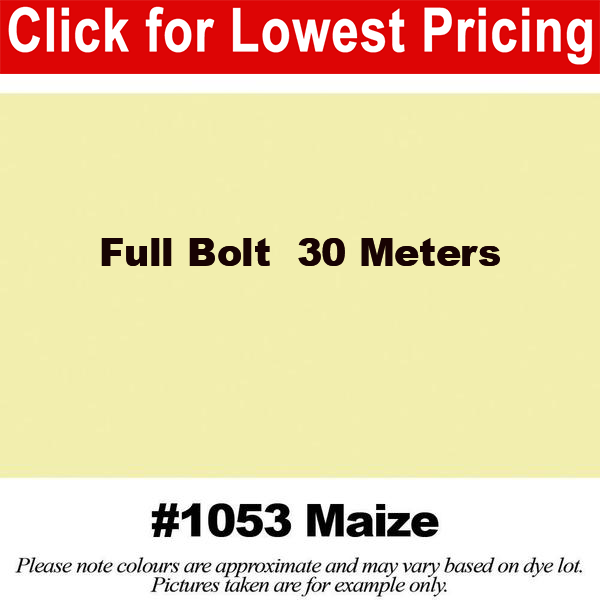 #1053 Maize Broadcloth Full Bolt (45