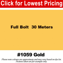 "Load image into Gallery viewer, #1059 Gold Broadcloth Full Bolt (45"" x 30 Meters)"