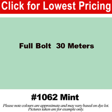 "Load image into Gallery viewer, #1062 Mint Broadcloth Full Bolt (45"" x 30 Meters)"