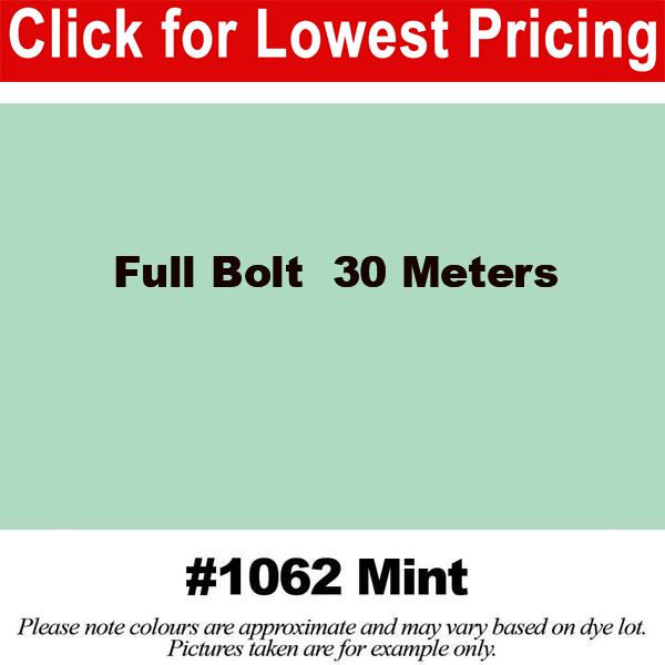 #1062 Mint Broadcloth Full Bolt (45