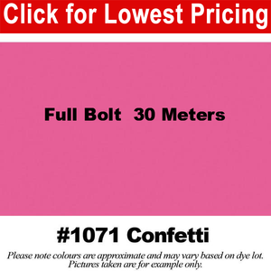 "#1071 Confetti Broadcloth Full Bolt (45"" x 30 Meters)"