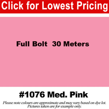 "Load image into Gallery viewer, #1076 Medium Pink Broadcloth Full Bolt (45"" x 30 Meters)"