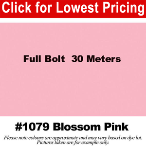 "#1079 Blossom Pink Broadcloth Full Bolt (45"" x 30 Meters)"