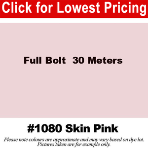"#1080 Skin Pink Broadcloth Full Bolt (45"" x 30 Meters)"