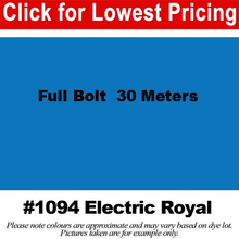 "Load image into Gallery viewer, #1094 Electric Royal Broadcloth Full Bolt (45"" x 30 Meters)"