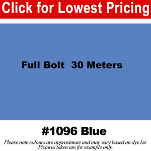 "#1096 Blue Broadcloth Full Bolt (45"" x 30 Meters)"