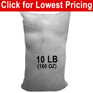 10 lb Bag - Polyester Stuffing (Bulk)