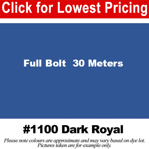 #1100 Dark Royal Broadcloth Full Bolt (45