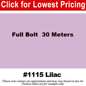 "#1115 Lilac Broadcloth Full Bolt (45"" x 30 Meters)"
