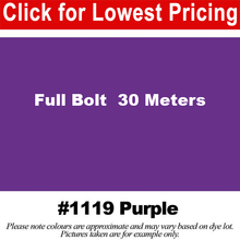 "Load image into Gallery viewer, #1119 Purple Broadcloth Full Bolt (45"" x 30 Meters)"