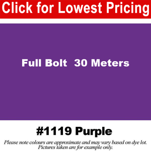 "#1119 Purple Broadcloth Full Bolt (45"" x 30 Meters)"