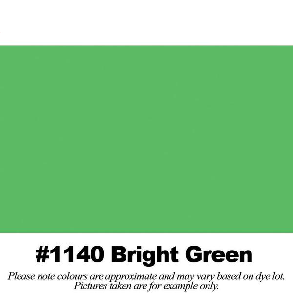 #1140 Bright Green Broadcloth Full Bolt (45